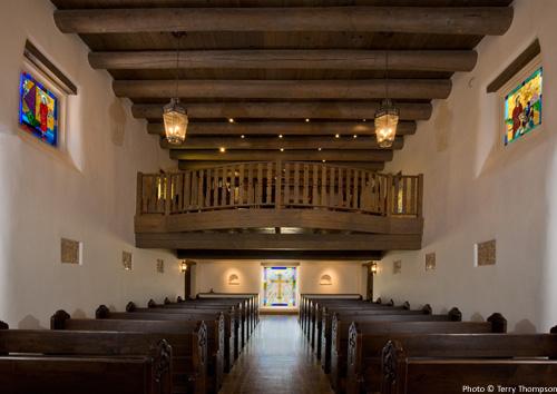 Expanded choir loft